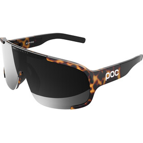 POC Aspire Gafas ciclismo, tortoise brown/violet/silver